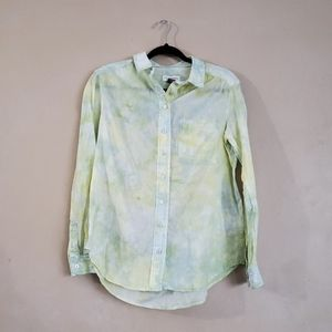 Pilcro and the Letterpress Cate Tie Dye Shirt S